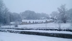 Cotswolds snow - Happy Holidays